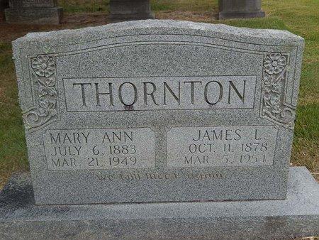 THORNTON, MARY ANN - Jefferson County, Tennessee | MARY ANN THORNTON - Tennessee Gravestone Photos