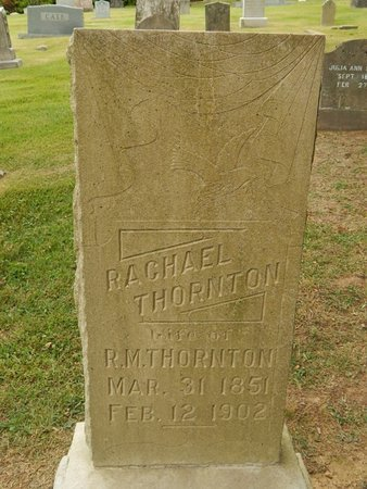 THORNTON, RACHAEL - Jefferson County, Tennessee | RACHAEL THORNTON - Tennessee Gravestone Photos