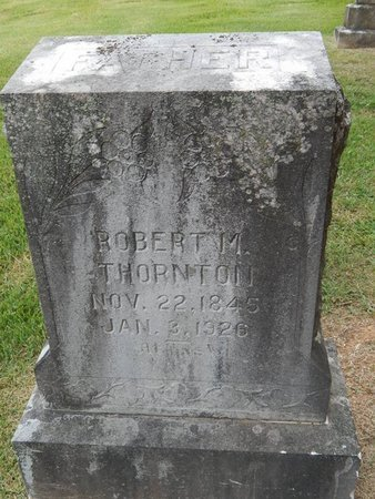 THORNTON, ROBERT M - Jefferson County, Tennessee | ROBERT M THORNTON - Tennessee Gravestone Photos