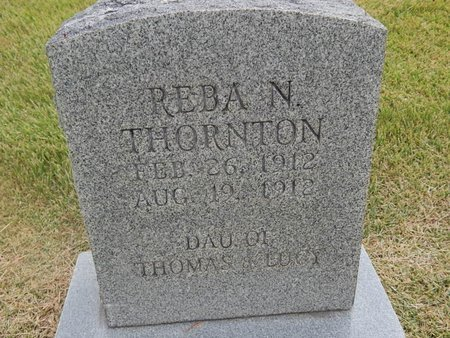 THORNTON, REBA N - Jefferson County, Tennessee | REBA N THORNTON - Tennessee Gravestone Photos