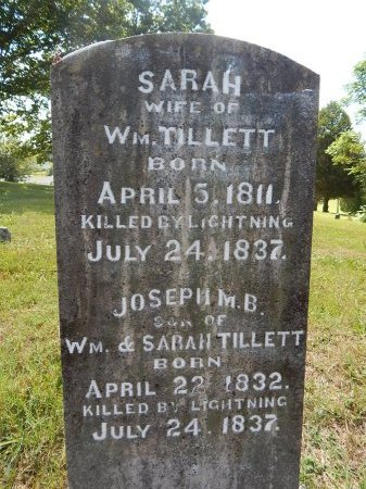 TILLETT, SARAH - Jefferson County, Tennessee | SARAH TILLETT - Tennessee Gravestone Photos