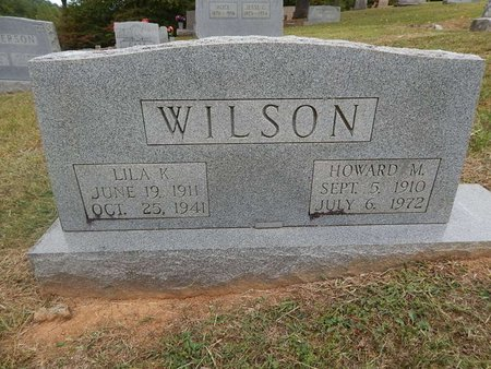 WILSON, LILA K - Jefferson County, Tennessee | LILA K WILSON - Tennessee Gravestone Photos