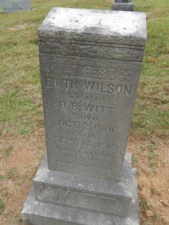 WITT, EDITH - Jefferson County, Tennessee | EDITH WITT - Tennessee Gravestone Photos