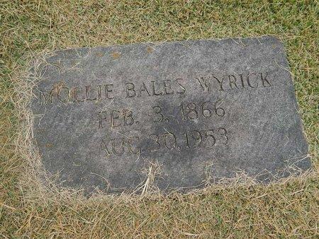 WYRICK, MOLLIE - Jefferson County, Tennessee | MOLLIE WYRICK - Tennessee Gravestone Photos