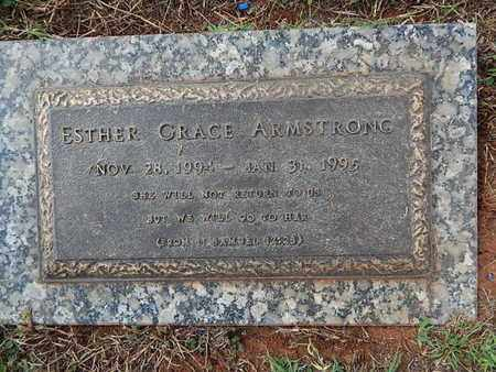 ARMSTRONG, ESTHER GRACE - Knox County, Tennessee | ESTHER GRACE ARMSTRONG - Tennessee Gravestone Photos