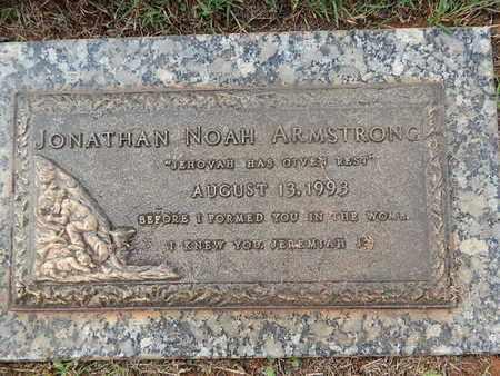 ARMSTRONG, JONATHAN NOAH - Knox County, Tennessee | JONATHAN NOAH ARMSTRONG - Tennessee Gravestone Photos