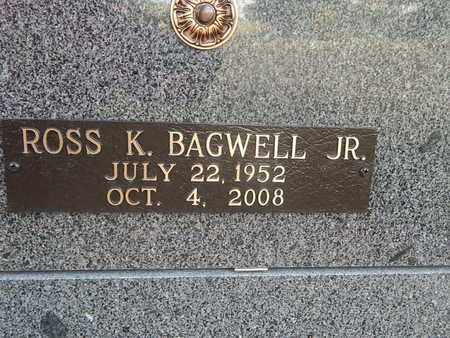 BAGWELL, ROSS K JR (CLOSE-UP) - Knox County, Tennessee | ROSS K JR (CLOSE-UP) BAGWELL - Tennessee Gravestone Photos
