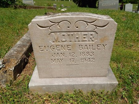 BAILEY, EUGENE - Knox County, Tennessee | EUGENE BAILEY - Tennessee Gravestone Photos