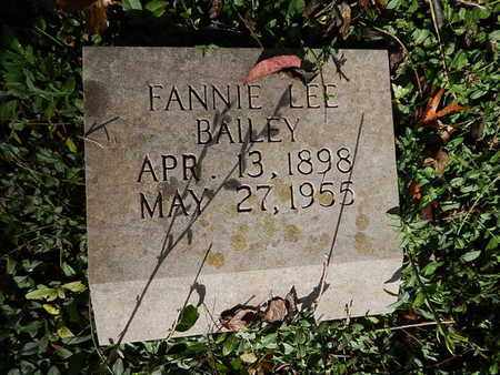 BAILEY, FANNIE LEE - Knox County, Tennessee | FANNIE LEE BAILEY - Tennessee Gravestone Photos