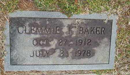 BAKER, CLEMMIE I - Knox County, Tennessee | CLEMMIE I BAKER - Tennessee Gravestone Photos