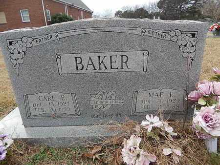 BAKER, CARL E - Knox County, Tennessee | CARL E BAKER - Tennessee Gravestone Photos