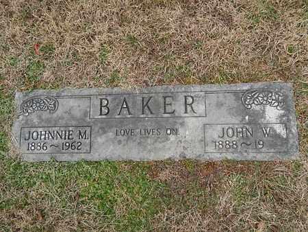 BAKER, JOHNNIE M - Knox County, Tennessee   JOHNNIE M BAKER - Tennessee Gravestone Photos