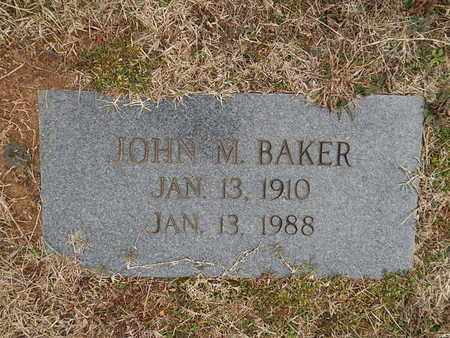 BAKER, JOHN M - Knox County, Tennessee | JOHN M BAKER - Tennessee Gravestone Photos
