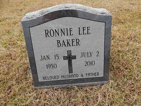 BAKER, RONNIE LEE - Knox County, Tennessee | RONNIE LEE BAKER - Tennessee Gravestone Photos
