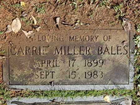 BALES, CARRIE - Knox County, Tennessee | CARRIE BALES - Tennessee Gravestone Photos