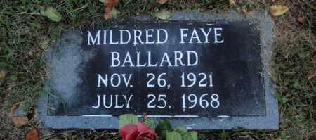 BALLARD, MILDRED FAYE - Knox County, Tennessee   MILDRED FAYE BALLARD - Tennessee Gravestone Photos