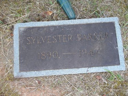 BARKER, SYLVESTER - Knox County, Tennessee | SYLVESTER BARKER - Tennessee Gravestone Photos