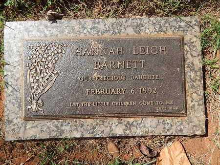 BARNETT, HANNAH LEIGH - Knox County, Tennessee | HANNAH LEIGH BARNETT - Tennessee Gravestone Photos
