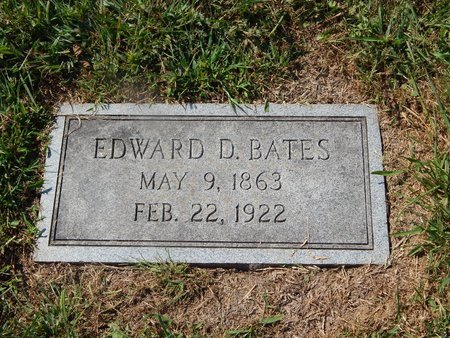 BATES, EDWARD D - Knox County, Tennessee | EDWARD D BATES - Tennessee Gravestone Photos