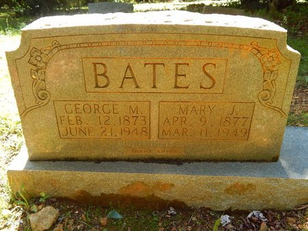 BATES, GEORGE M - Knox County, Tennessee | GEORGE M BATES - Tennessee Gravestone Photos