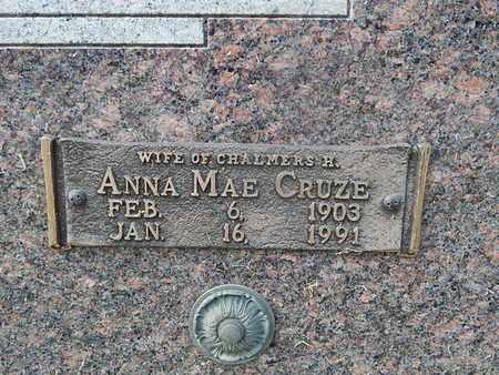 CRUZE BEAMAN, ANNA MAE (CLOSE-UP) - Knox County, Tennessee | ANNA MAE (CLOSE-UP) CRUZE BEAMAN - Tennessee Gravestone Photos