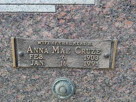 CRUZE BEAMAN, ANNA MAE (CLOSE-UP) - Knox County, Tennessee | ANNA MAE (CLOSE-UP) CRUZE BEAMAN - Tennessee Gravestone Photos