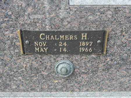 BEAMAN, CHALMERS H (CLOSE-UP) - Knox County, Tennessee | CHALMERS H (CLOSE-UP) BEAMAN - Tennessee Gravestone Photos