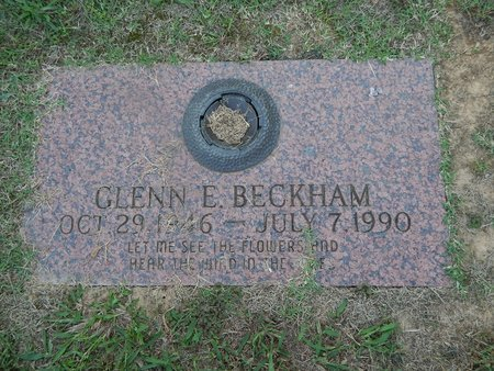 BECKHAM, GLENN E - Knox County, Tennessee | GLENN E BECKHAM - Tennessee Gravestone Photos