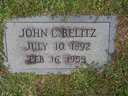 BELITZ, JOHN C - Knox County, Tennessee   JOHN C BELITZ - Tennessee Gravestone Photos