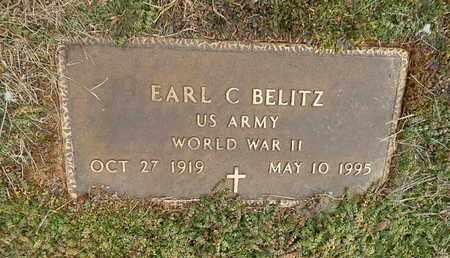 BELITZ  (VETERAN WWII), EARL C - Knox County, Tennessee | EARL C BELITZ  (VETERAN WWII) - Tennessee Gravestone Photos
