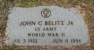 BELITZ  (VETERAN WWII), JOHN C JR - Knox County, Tennessee | JOHN C JR BELITZ  (VETERAN WWII) - Tennessee Gravestone Photos
