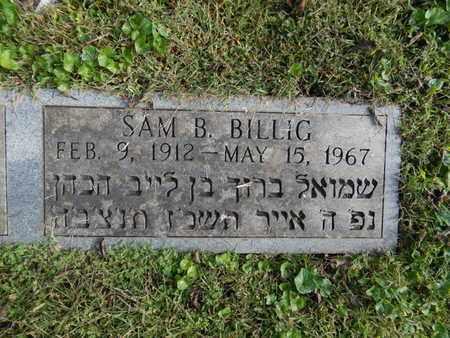 BILLIG, SAM B - Knox County, Tennessee   SAM B BILLIG - Tennessee Gravestone Photos