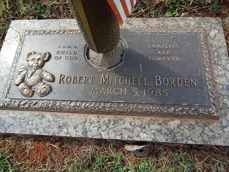 BORDEN, ROBERT MITCHELL - Knox County, Tennessee   ROBERT MITCHELL BORDEN - Tennessee Gravestone Photos