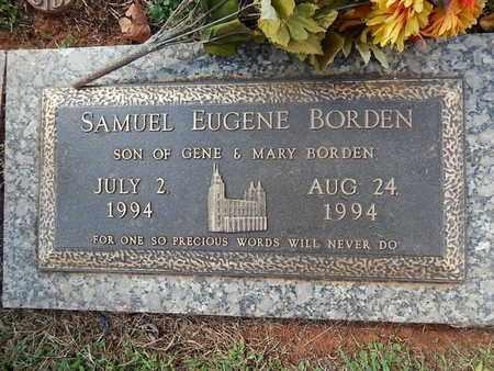 BORDEN, SAMUEL EUGENE - Knox County, Tennessee   SAMUEL EUGENE BORDEN - Tennessee Gravestone Photos
