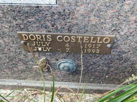 COSTELLO BOWYER, DORIS (CLOSE-UP) - Knox County, Tennessee | DORIS (CLOSE-UP) COSTELLO BOWYER - Tennessee Gravestone Photos