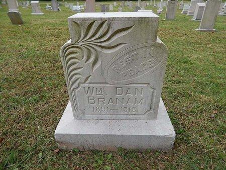 BRANAM, WILLIAM DAN - Knox County, Tennessee   WILLIAM DAN BRANAM - Tennessee Gravestone Photos