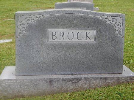 BROCK, FAMILY MARKER - Knox County, Tennessee | FAMILY MARKER BROCK - Tennessee Gravestone Photos