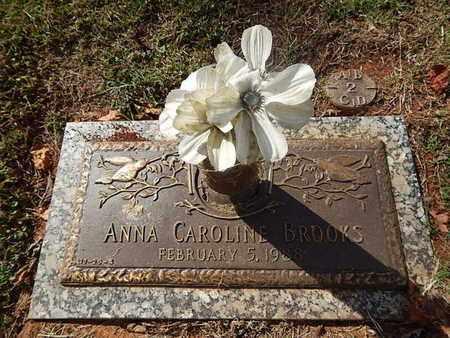 BROOKS, ANNA CAROLINE - Knox County, Tennessee | ANNA CAROLINE BROOKS - Tennessee Gravestone Photos