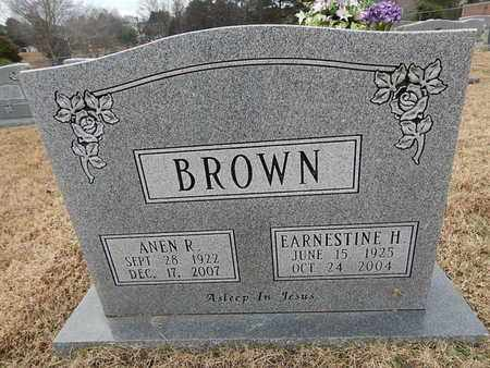 BROWN, EARNESTINE H - Knox County, Tennessee | EARNESTINE H BROWN - Tennessee Gravestone Photos