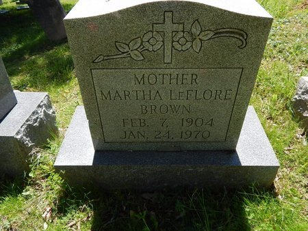 BROWN, MARTHA - Knox County, Tennessee | MARTHA BROWN - Tennessee Gravestone Photos