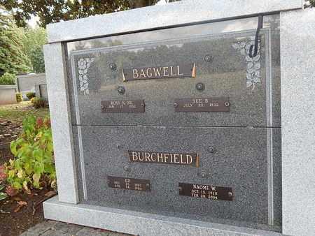 BURCHFIELD, NAOMI W - Knox County, Tennessee | NAOMI W BURCHFIELD - Tennessee Gravestone Photos