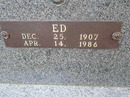 BURCHFIELD, ED - Knox County, Tennessee | ED BURCHFIELD - Tennessee Gravestone Photos