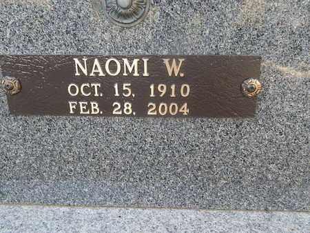 WARD BURCHFIELD, NAOMI (CLOSE-UP) - Knox County, Tennessee | NAOMI (CLOSE-UP) WARD BURCHFIELD - Tennessee Gravestone Photos