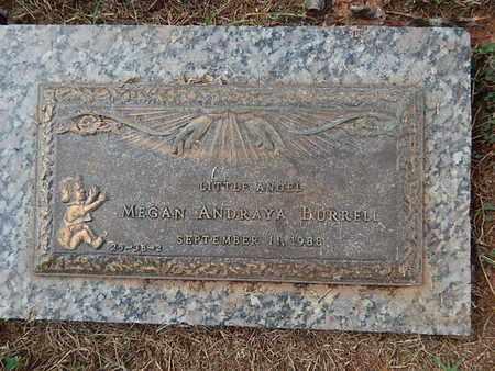 BURRELL, MEGAN ANDRAYA - Knox County, Tennessee | MEGAN ANDRAYA BURRELL - Tennessee Gravestone Photos