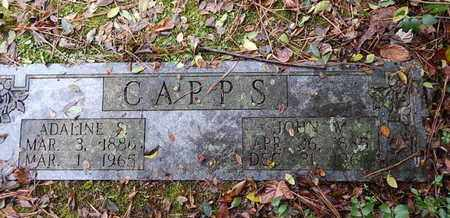 CAPPS, JOHN W - Knox County, Tennessee | JOHN W CAPPS - Tennessee Gravestone Photos