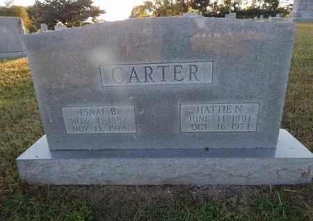 CARTER, ISAAC B - Knox County, Tennessee | ISAAC B CARTER - Tennessee Gravestone Photos