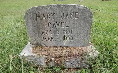 CAVEL, MARY JANE - Knox County, Tennessee   MARY JANE CAVEL - Tennessee Gravestone Photos