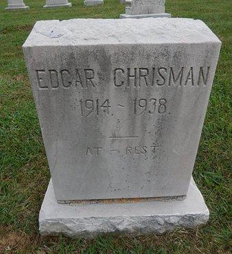 CHRISMAN, EDGAR - Knox County, Tennessee | EDGAR CHRISMAN - Tennessee Gravestone Photos