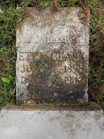 CLARK, ETTA - Knox County, Tennessee | ETTA CLARK - Tennessee Gravestone Photos