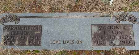 TIPTON, MARION R - Knox County, Tennessee | MARION R TIPTON - Tennessee Gravestone Photos